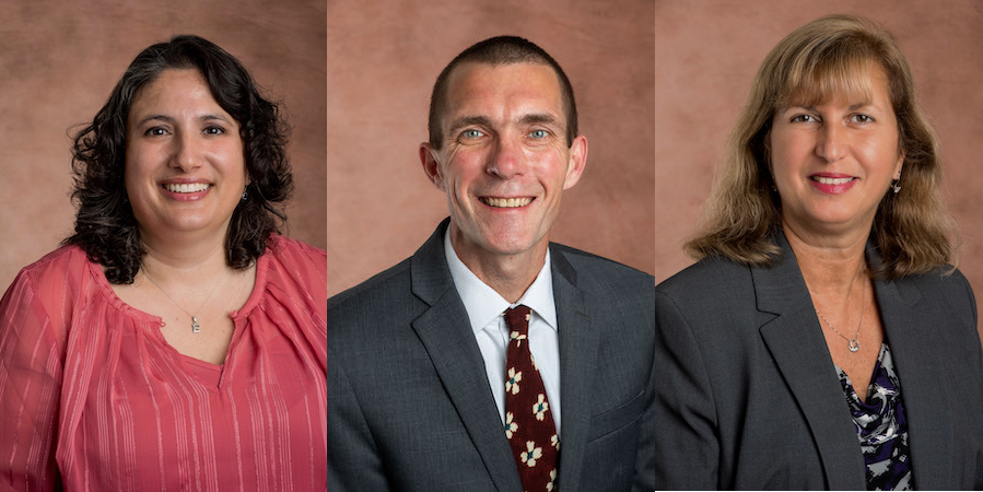 Shamsi Berry, PhD, MS, Christopher Haymaker, PhD, and Zylkia Rodriguez, MD recently joined the medical school as faculty members.