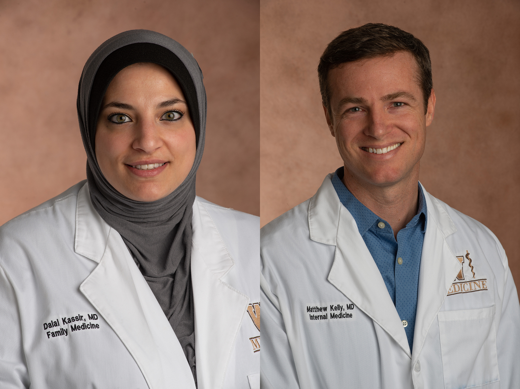 Drs. Dalal Kassir and Matt Kelly