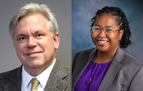 Mark Goetting, MD, and Sharee Light, PhD