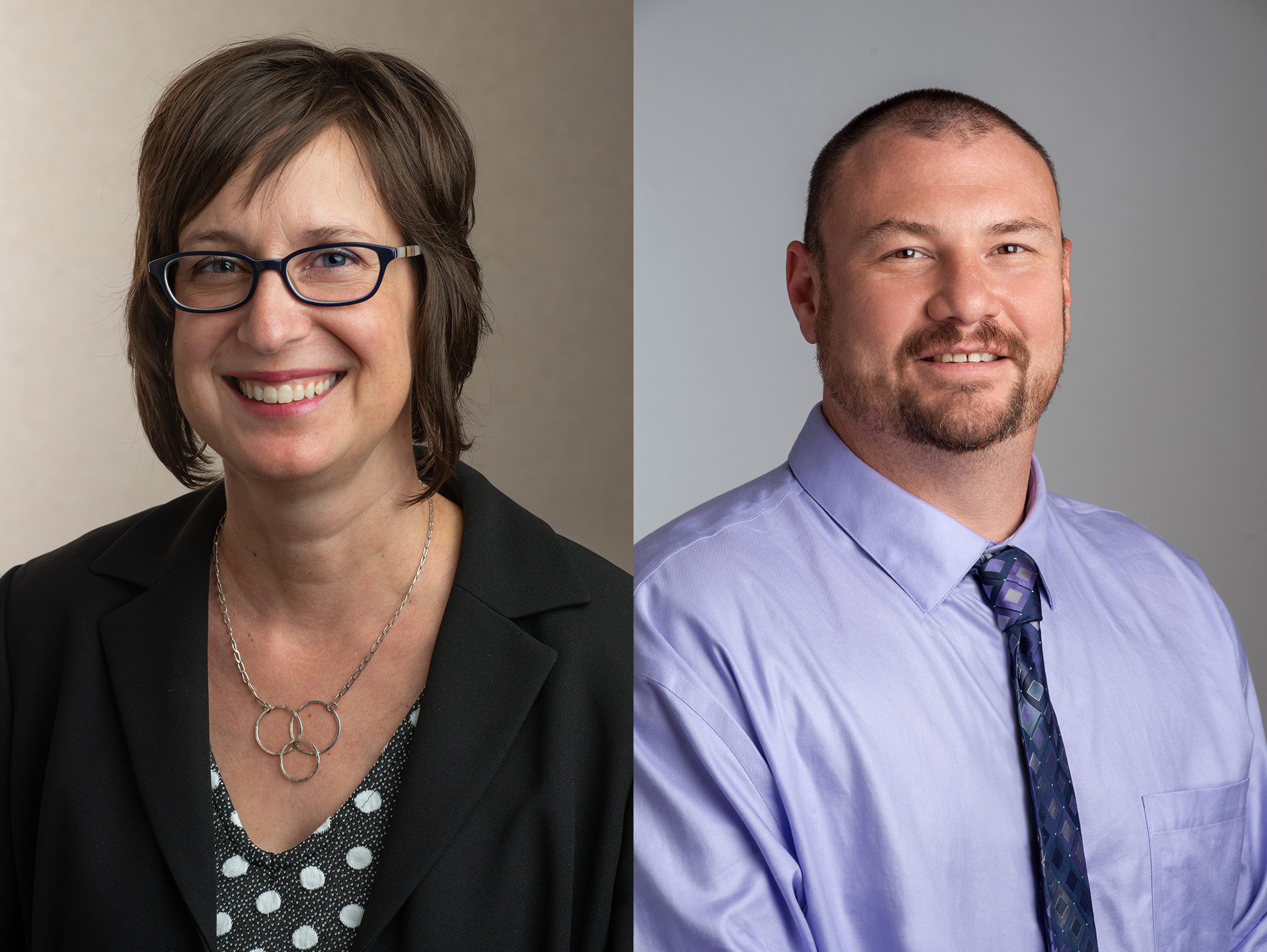Karen Horneffer-Ginter, PhD, and Christopher Keator, PhD