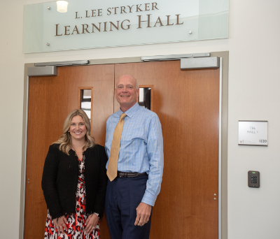L. Lee Stryker Learning Hall Unveiling at WMed