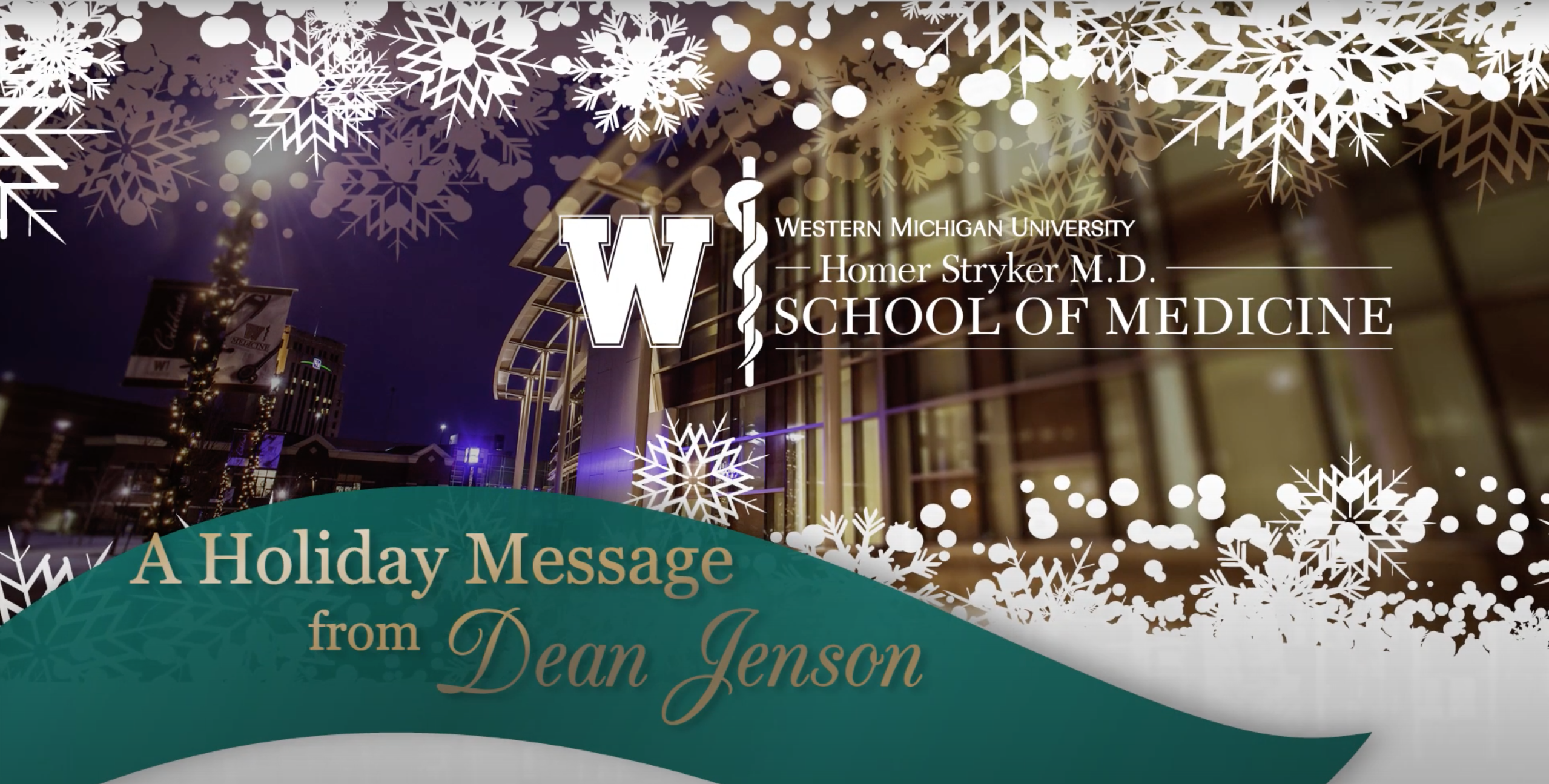 2020 Holiday Message from Dr. Hal B. Jenson