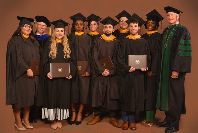 Eight students spent the last academic year in WMed's Bridge to MD Program.
