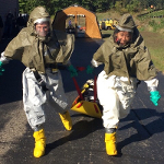 EMS Day Decontamination Suits
