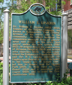 Dr. W.E. Upjohn (Our History)