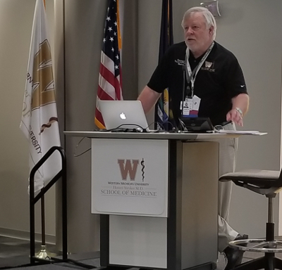 Dr. Glenn Dregasnky at 2018 MAFP Conference