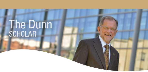 John M. Dunn Endowed Scholarship Header