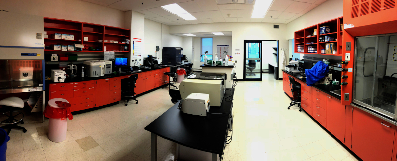 Center for Immunobiology Flow Room