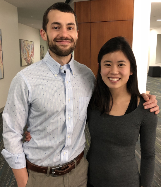 Heather Chen, Sam Yost