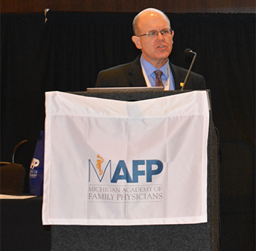 Dr. Pete Ziemkowski at 2018 MAFP Conference